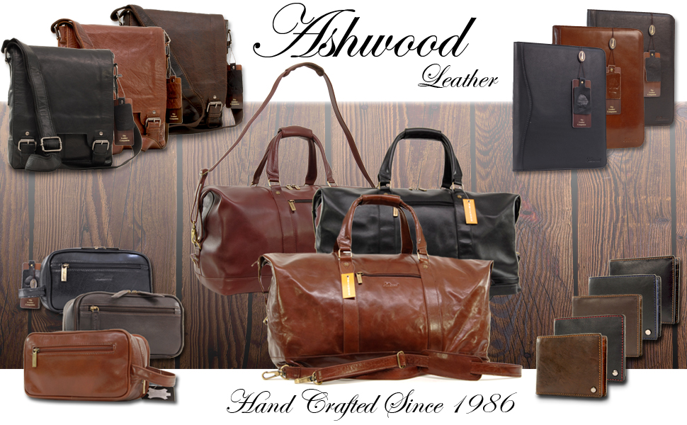 Ashwood Leather Man bags