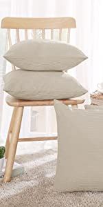 Corduroy Pillow Covers pillow covers cushion throw pillow covers set of 4 sofa bedroom