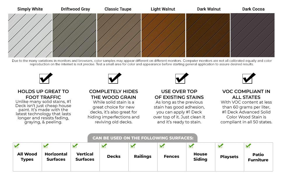 best deck stain sealer #1 1deck 1 wood house solid color opaque sealer sealant paint siding fence