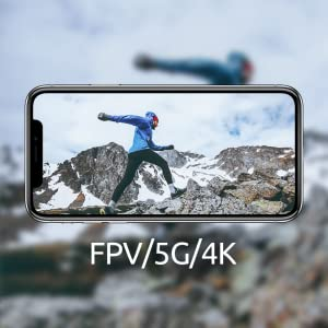 FPV 5Ghz WIFI Transimission 4K resolution image