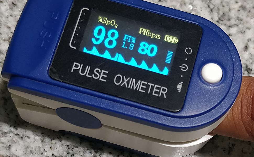 Simple to use Pulse Oximeter