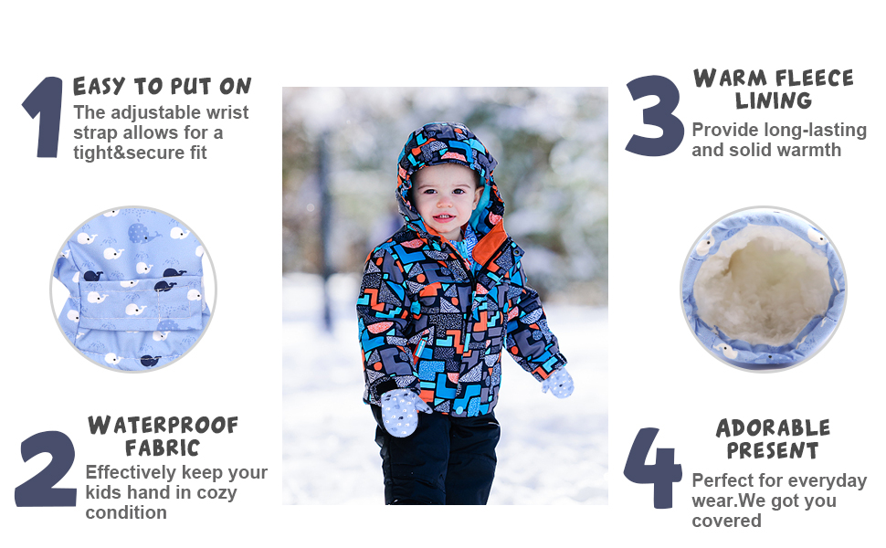 toddler winter mittens