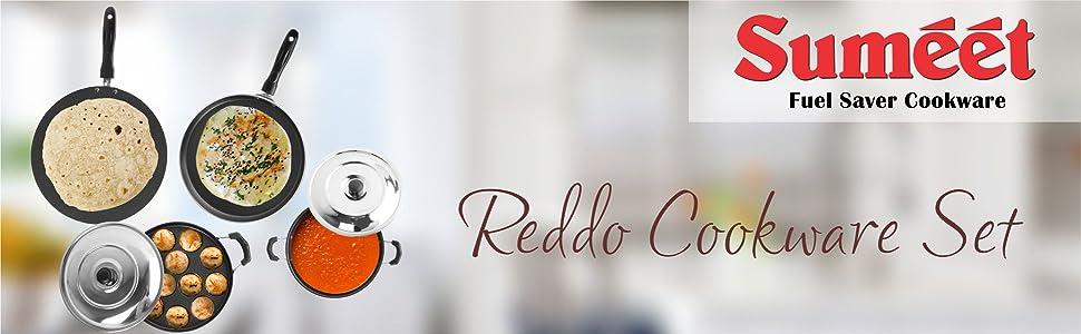 SUMEET REDDO COOKWARE SET