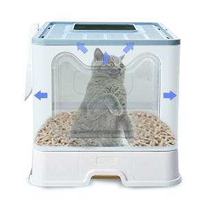 enclosed litter box