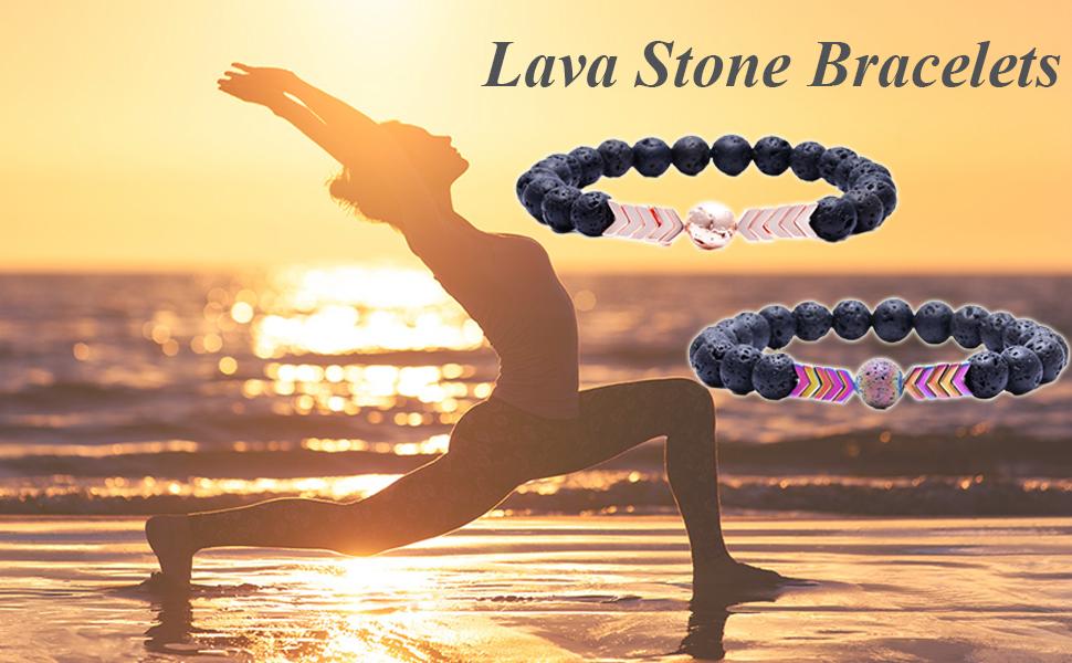 rock stone bracelets