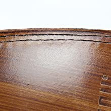 Double stitched leather sole goodyear welt