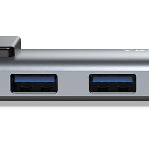 VKUSRA Hub USB C, 5 en 1 Tipo C Hub con Ethernet RJ45 Detección ...