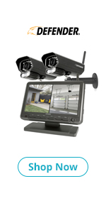 Defender PhoenixM2 Security System, with 2 cameras