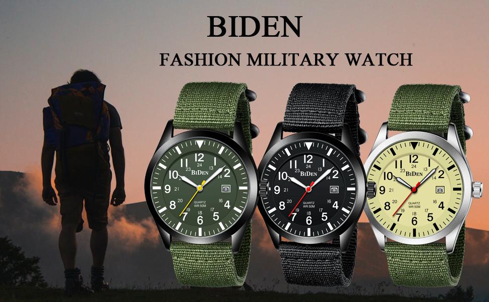 BIDEN men watch