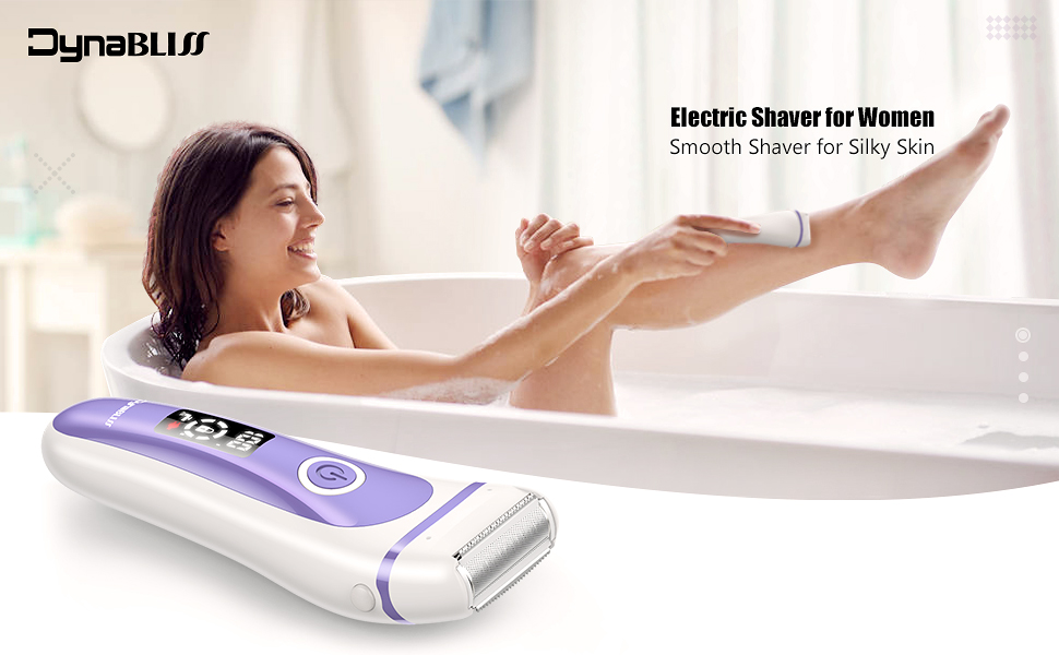 electric razor women
