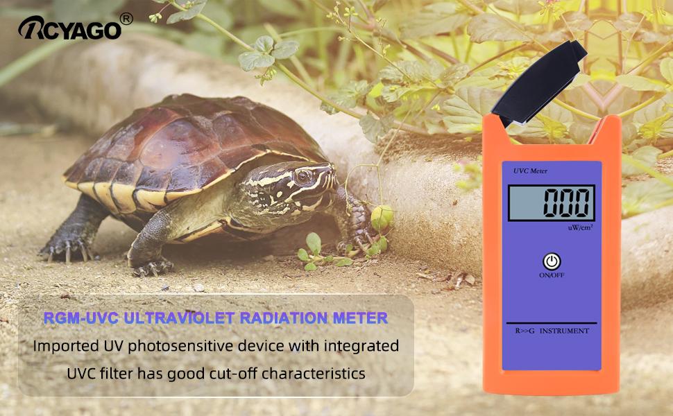reptile uv radiation meter