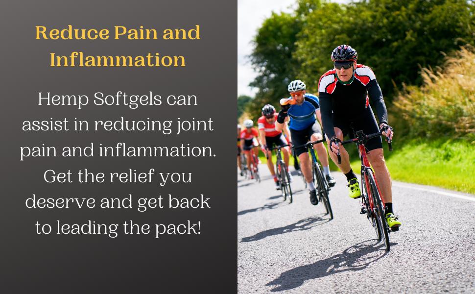 reduce pain, antiinflammatory, inflammation, joint pain supplement, hemp oil for pain