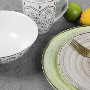 16 pcs dinnerware sets for everyday family use