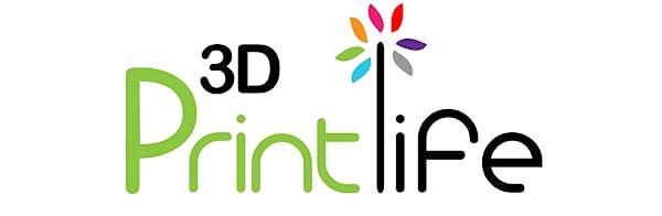 3D Printlife A+ Logo
