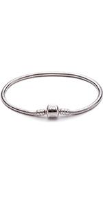 Snake Chain Charms Bracelet