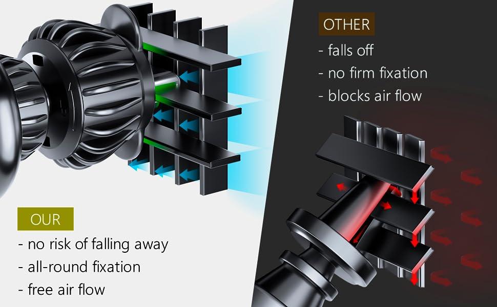 air vent holder