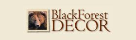 Black Forest Decor Logo with Bear