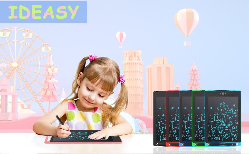 Ideasy Lcd Schreibtablett 12 Zoll Einfarbiges Computer Zubehör