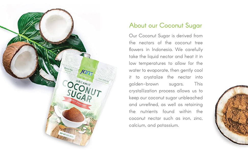 About our Coconut Sugar