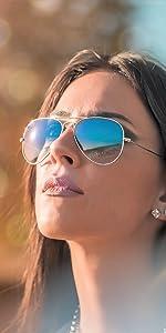 Joopin Metal Frame Sunglasses
