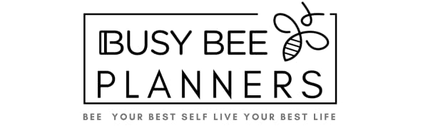 Busy Bee Planners planners and stickers for organization and goal setting