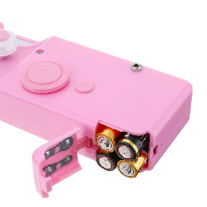 Handheld Sewing Machine Mini Cordless Portable Electric Small Handy Stitch Fabric Kid Pet Clothes