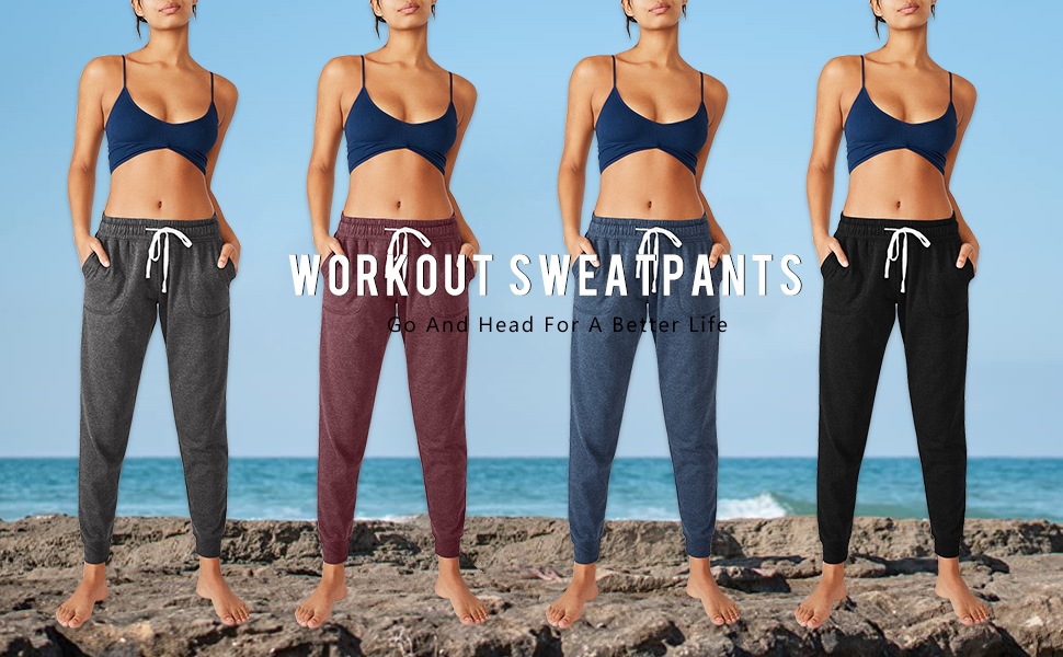 Women's Workout Sweatpants