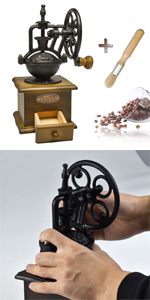 手挽きコーヒーミル 復古式