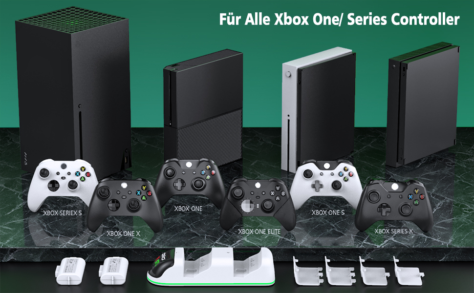 xbox one controller ladestation