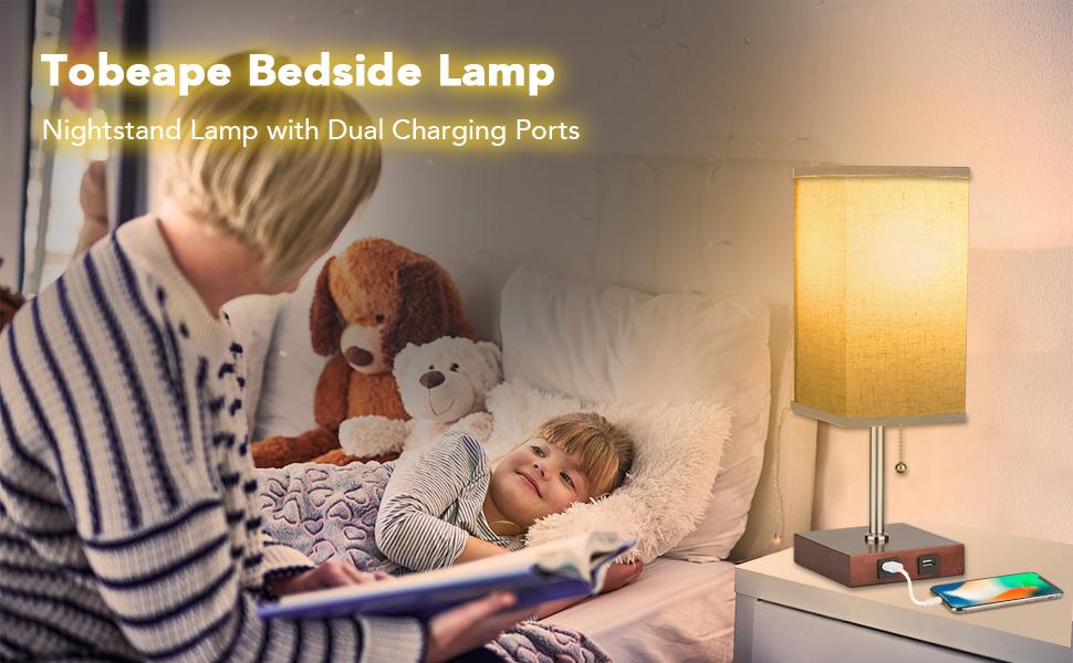 Bedside Lamp Nightstand Lamp