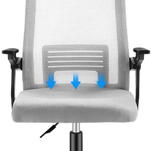 BREATHABLE MESH SEAT