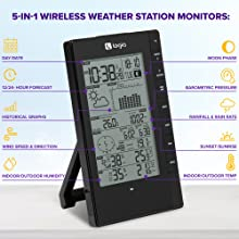 Logia 5-in-1 PC Weather Station