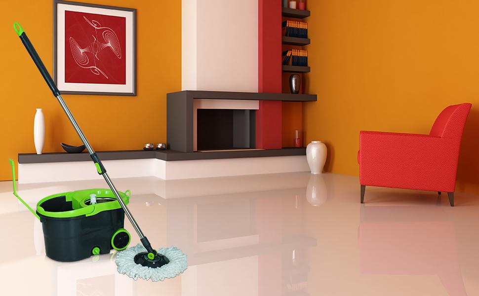 mop,mgic spin mop,floor cleaning,bucket wheel , steel handle,premium mop, adjustable rod