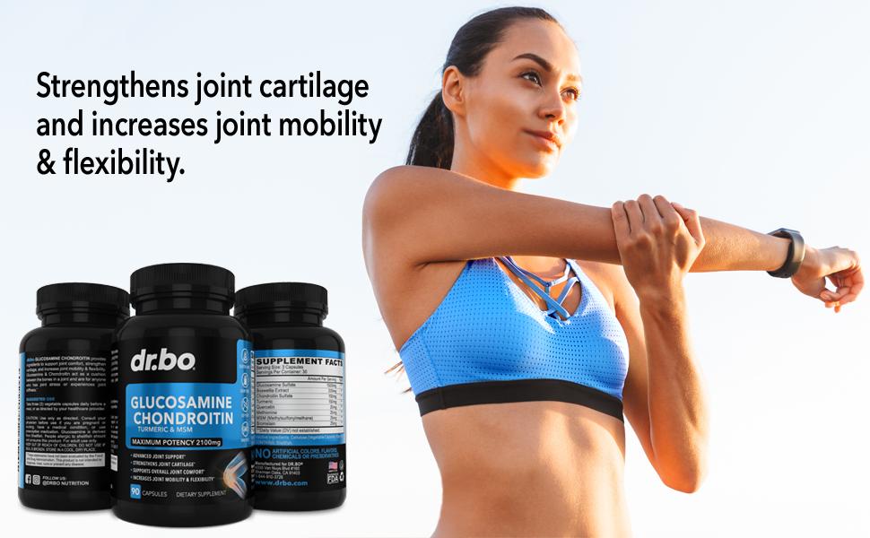 men women knee stiffness joints glucosamine sulfate advanced bone repair inflammation complex adults