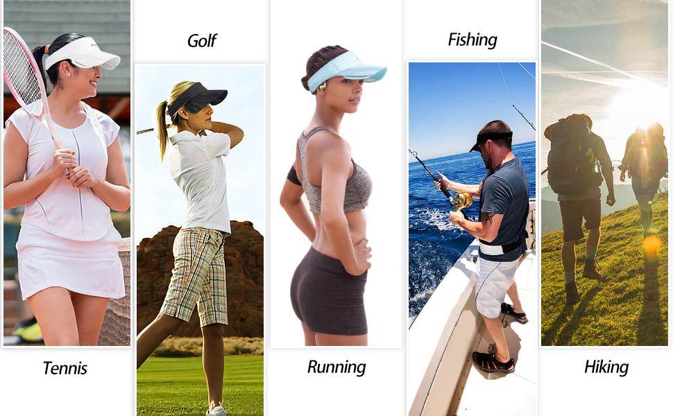 summer sport visors
