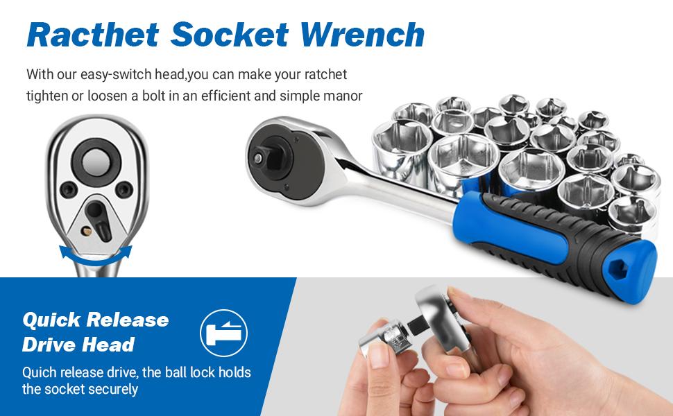ratchet socket wrench
