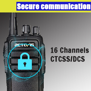 safe retevis RT21 walkie talkie