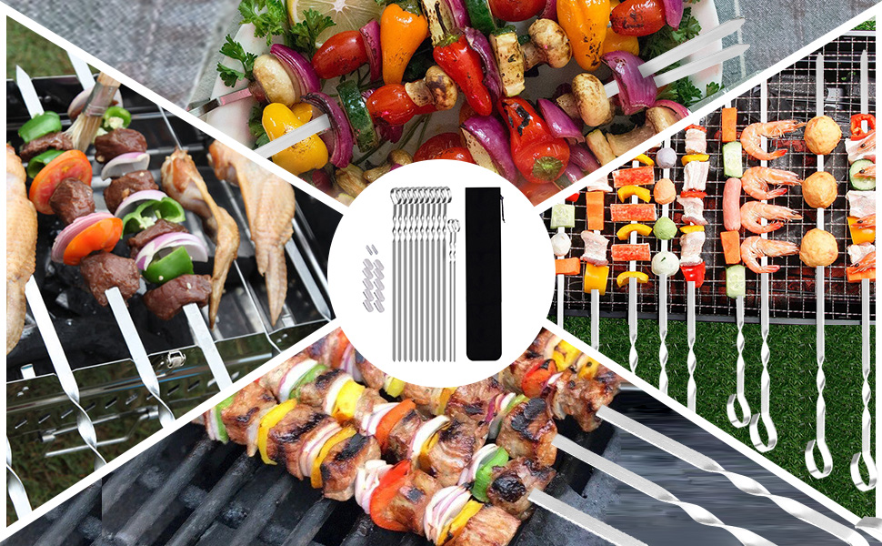 barbecue skewers set