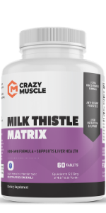 milk thistle detox cleanse weight loss liver detoxifier capsules kidney support supplement silymarin