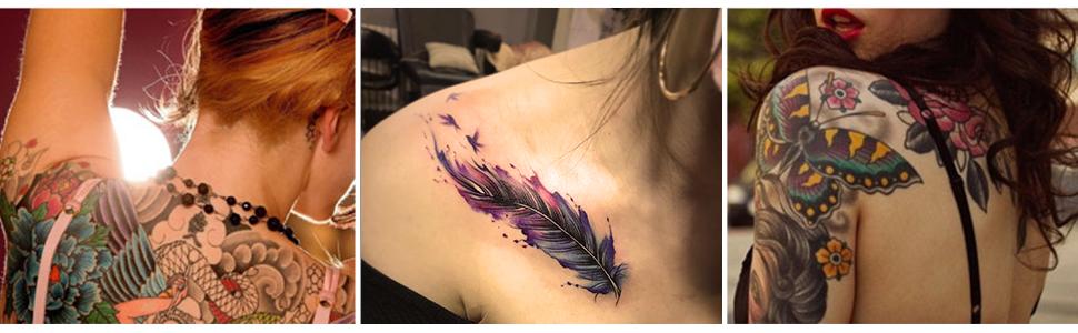Tattoo Ink, Tintas para Tatuar, Tinta para Tatuajes, Set 2 colores ...