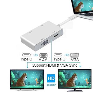 HDMI and VGA Work Together