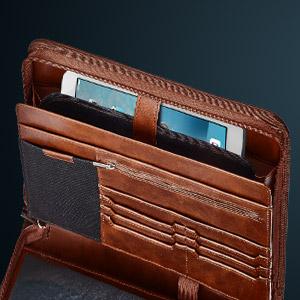 document, black leather portfolio padfolio pad folio holder organizer binder