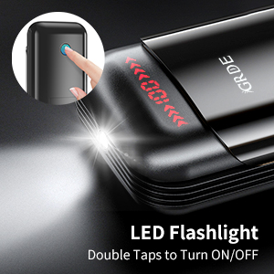 earbuds with flashlight