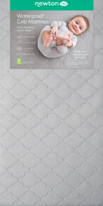 Crib Mattress washable and breathable