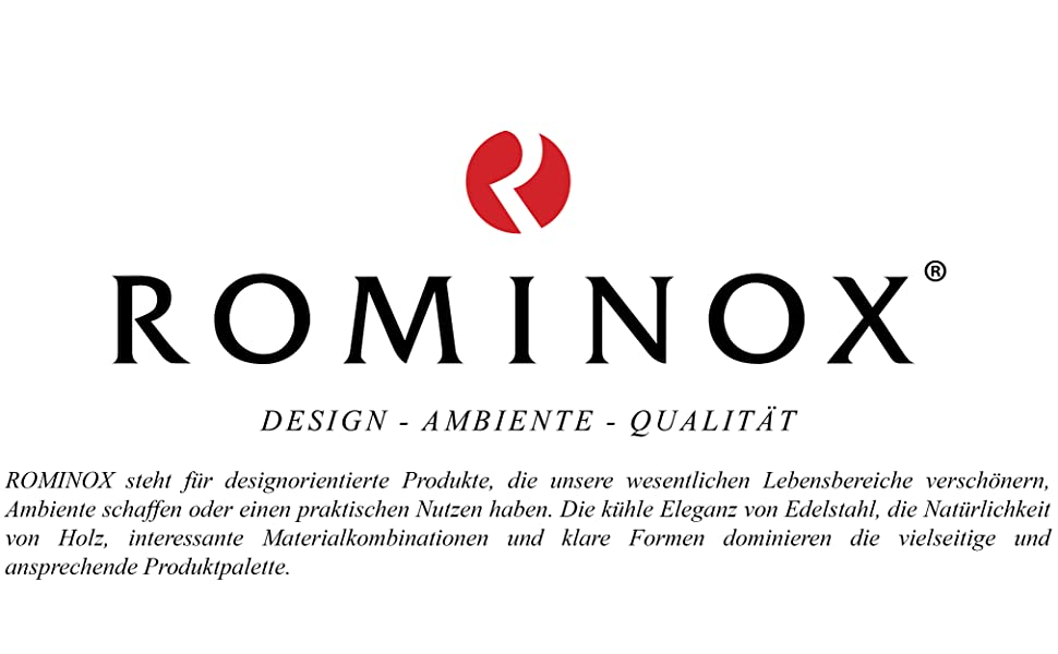 ROMINOX Markenlogo & -beschreibung