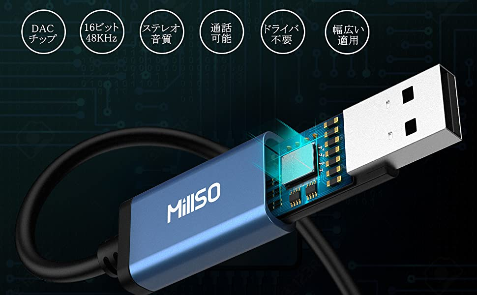 USB 外部サウンドカード