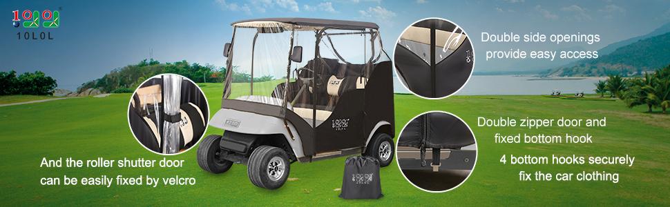 ez-go golf cart cover