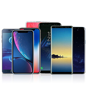 Limxems Caricatore Wireless,Caricabatterie Wireless 10W Ricarica Rapida Caricabatterie a Induzione per iPhone 11 PRO /11 /XS/XS Max/XR/X /8/8 Plus, Galaxy S10 /S9 /S9 + /S8 /S8 + /Note 8 - Nero