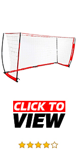 Powernet Portable 12x6 soccer net. Practice indoor or outdoor. Perfect for scrimmages and drills.