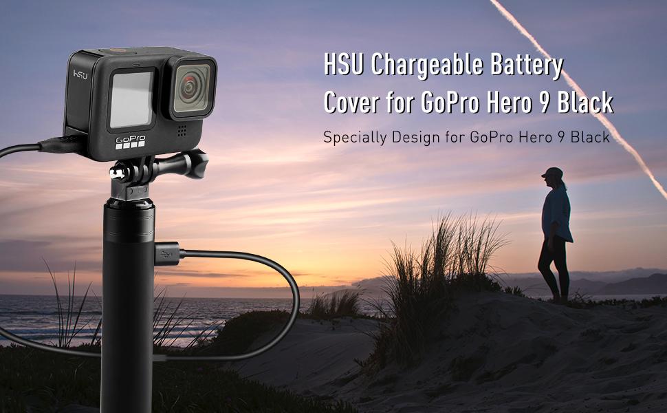 Aluminum Replacement Door for GoPro Hero 9 Action Camera